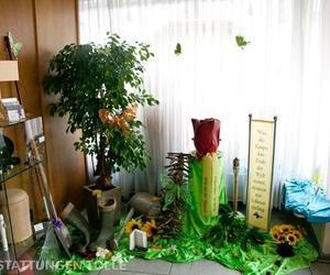 Dekoration für einen Gartenliebhaber